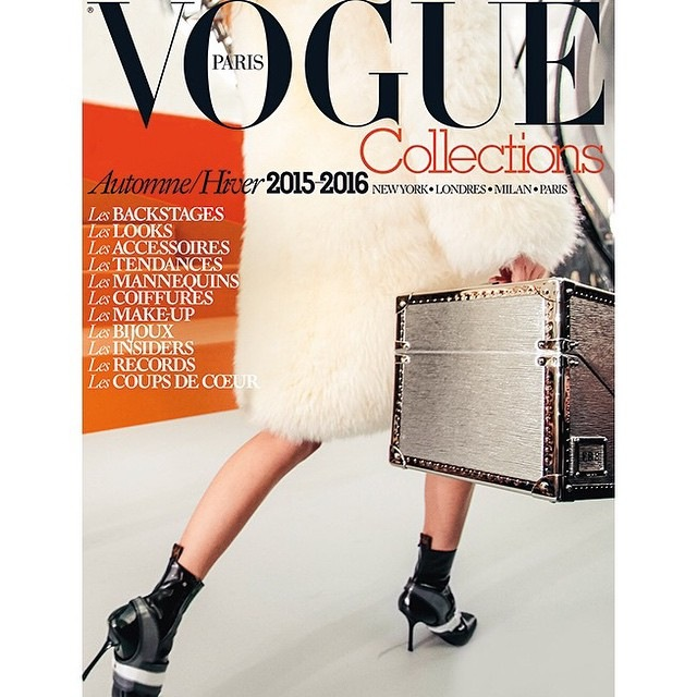 Cherry Black Diamond - Magazine VOGUE Collection Fall/ Winter 2015/2016. Brand: ANGGY HAIF