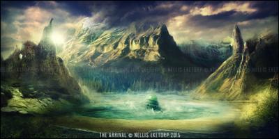 Nellis Eketorp Portfolio - The Arrival