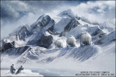 Nellis Eketorp Portfolio - Keppler-22b Science Complex