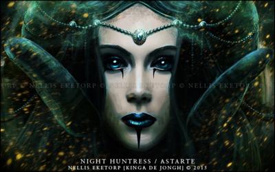Nellis Eketorp Portfolio - Night Huntress / Astarte