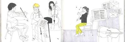 illustration - Illustrationen für den Jahresbericht 2012 der Zürcher Hochschule der Künste