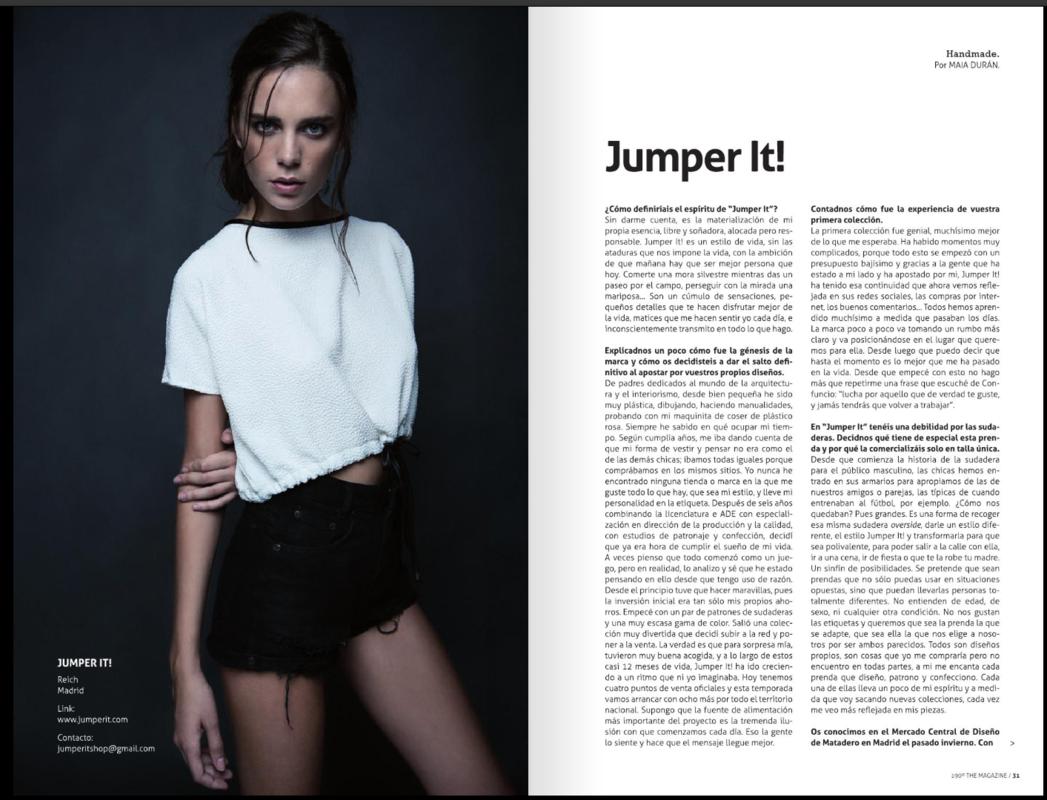 Mara Fervi - 190 MAGAZINE ISSUE 21 Maquillaje y peluquería