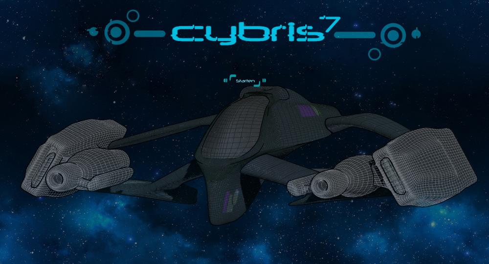 myPortfolio - Cybris 7 - title page illustration