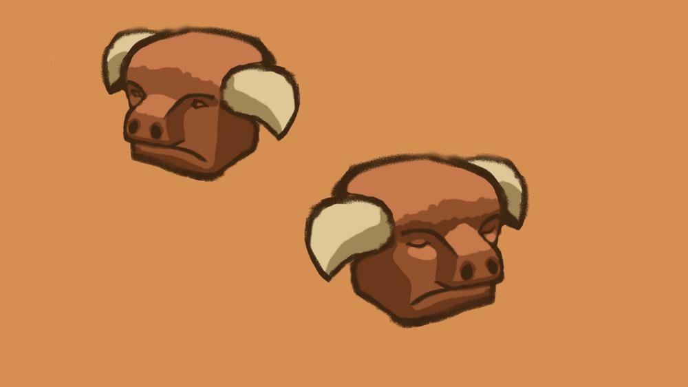myPortfolio - enemy character design