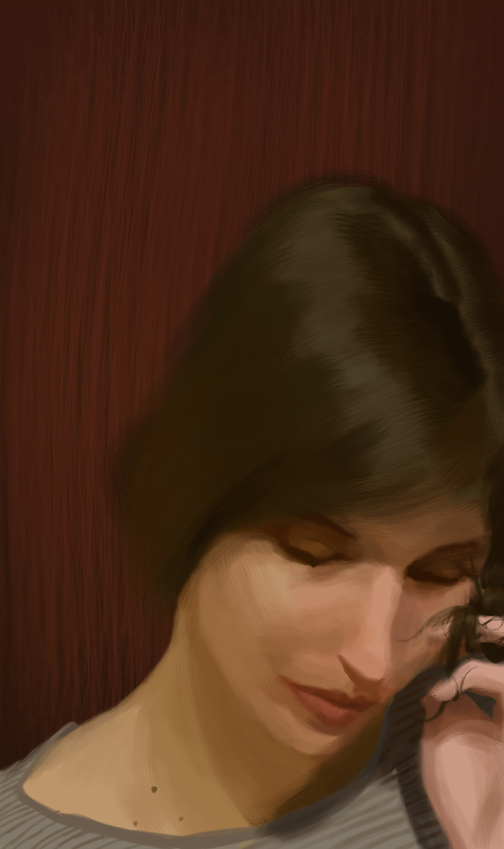 myPortfolio - Joanne - digital portrait