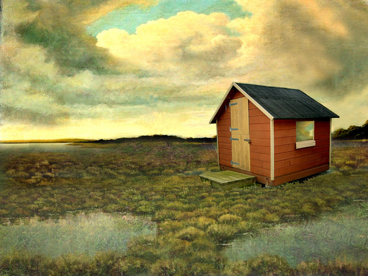 Lotte Agger - rødt hus