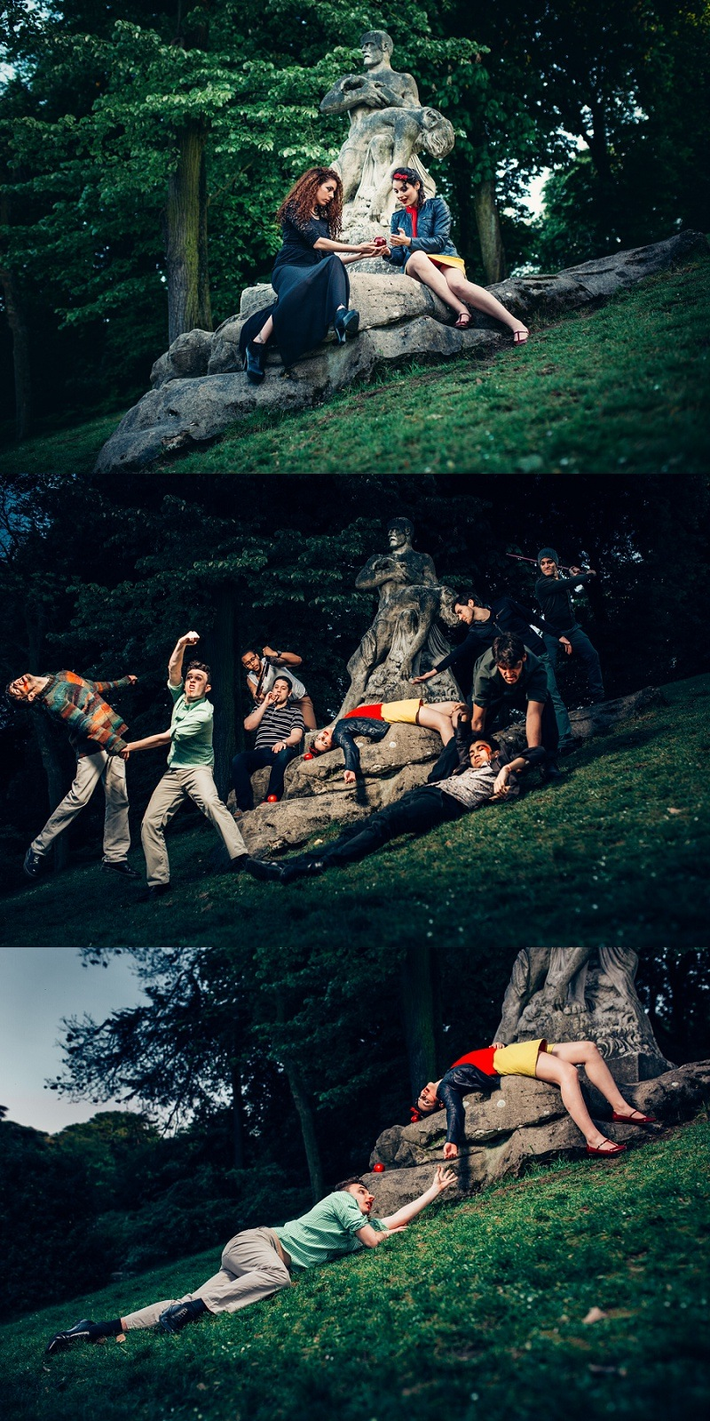 ONTHEMOON PHOTOGRAPHY - Blanche Neige et la Bataille des 7 Nains