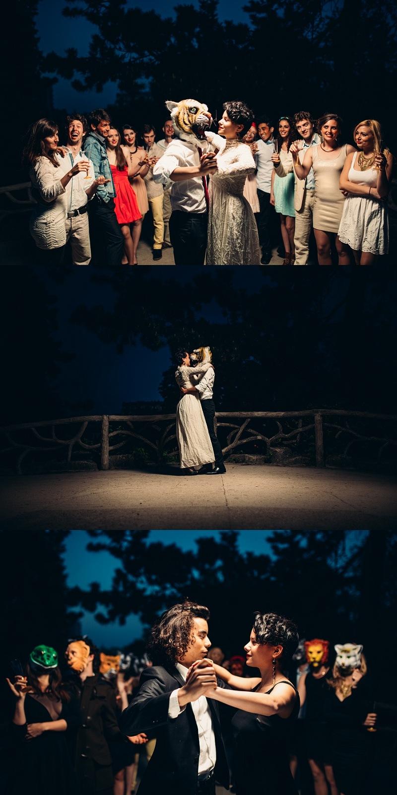 ONTHEMOON PHOTOGRAPHY - La Belle et la Bête : Les masques finissent toujours par tomber
