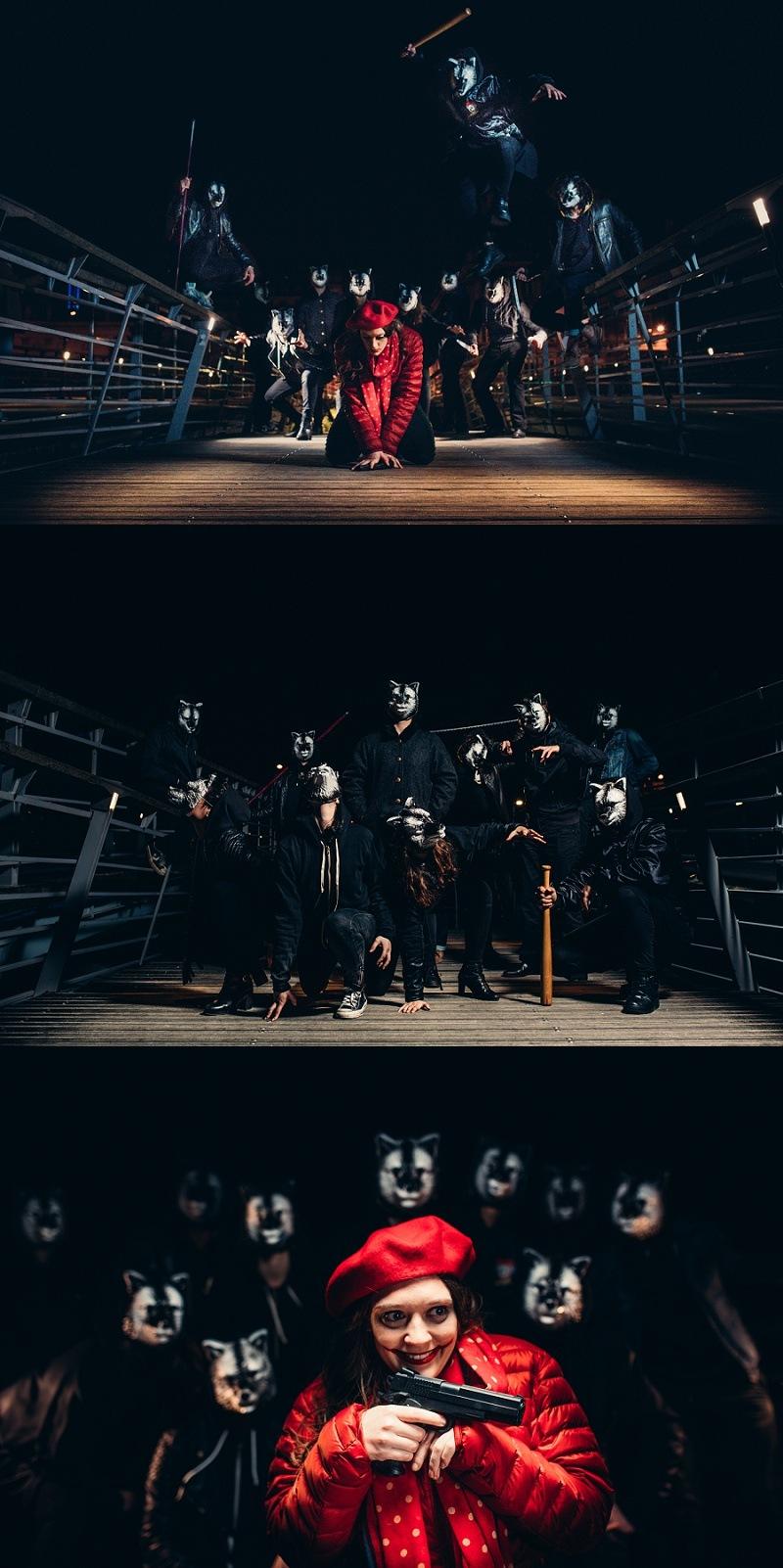 ONTHEMOON PHOTOGRAPHY - Le Petit Chaperon Rouge et les Grands Méchants Loups