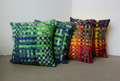 Vega Määttä Siltberg - Textile design - Patchwork