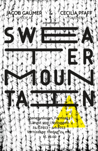 1a60m - SWEATER MOUNTAIN
