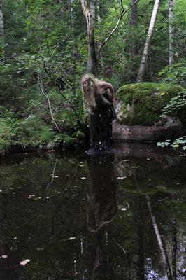 Maantyttäret - Ahitar from Maantyttäret-shortmovie Photography: Annamaija Ruuttunen Costume: Maantyttäret Model: Hanna Rautio © 2015 Maantyttaret