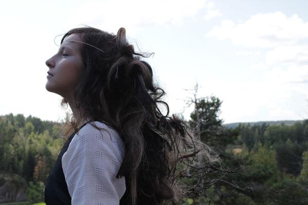 Maantyttäret - from Maantyttäret-shortmovie Photography: Hanna Rautio Costume: Maantyttäret Model: Jasmin Molin © 2015 Maantyttaret