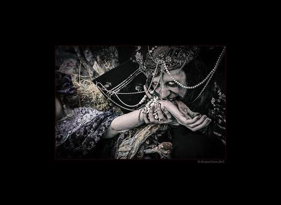 Maantyttäret - The Upir feeds! Photography: Constantine Morte Models: Ms. Ms.Sorrow Eye & Annamaija Ruuttunen Costumes: Maantyttäret © 2015 Maantyttaret © 2015 SkorpiusVision http://skorpiusdeviant.deviantart.com/