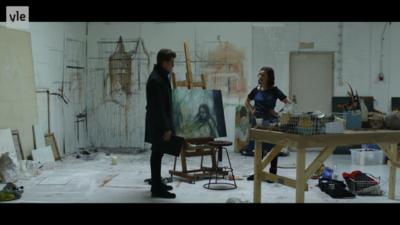 Maantyttäret - tv-series Karppi. paintings etc.