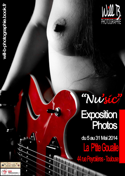 Will B. Photographie - EXPOSITION NUSIC - MAI 2014