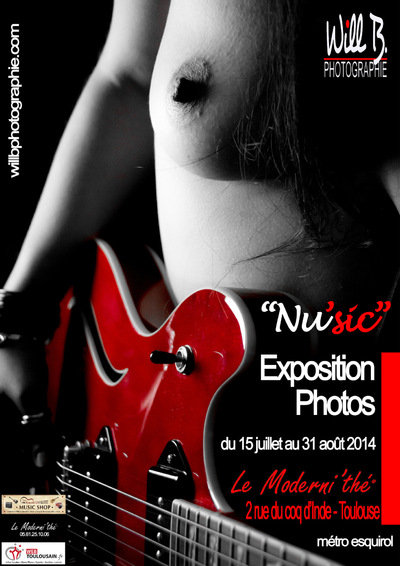 Will B. Photographie - EXPOSITION NUSIC - AOUT 2014