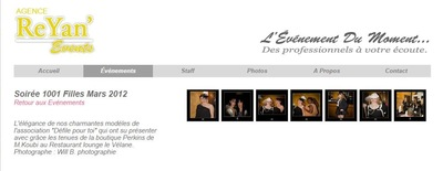 Will B. Photographie - DEFILE DE MODE 1001 FILLES - REYAN EVENTS - LE VELANE - 2012