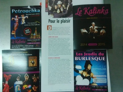Will B. Photographie - LE KALINKA - FLASH HEBDO 2014