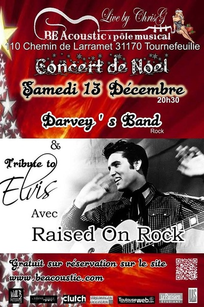 Will B. Photographie - TRIBUTE A ELVIS - DECEMBRE 2014