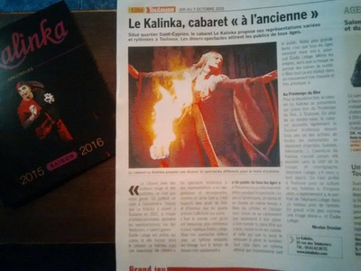 Will B. Photographie - ILLUSTRATION DE LARTICLE SUR LE KALINKA - COTE TOULOUSE - OCTOBRE 2015