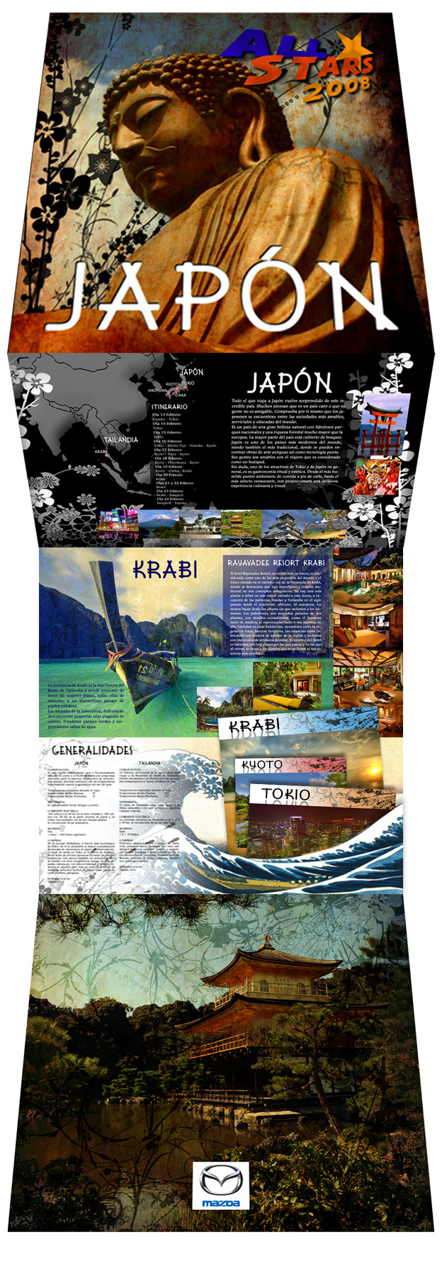 Juan Vega Martínez - Viaje superventas Japón y Krabi, Mazda
