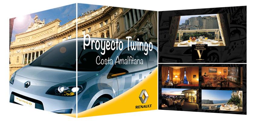 Juan Vega Martínez - Presentación Nuevo Twingo en la Costa Amafitana, Renault