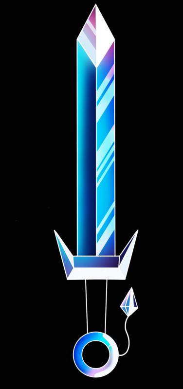 Lara-Jane van Antwerpen - Crystallised Lightening Sword, 2014