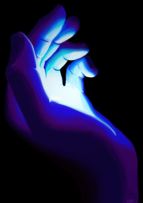 Lara-Jane van Antwerpen - Hand Holding Crystal, 2014