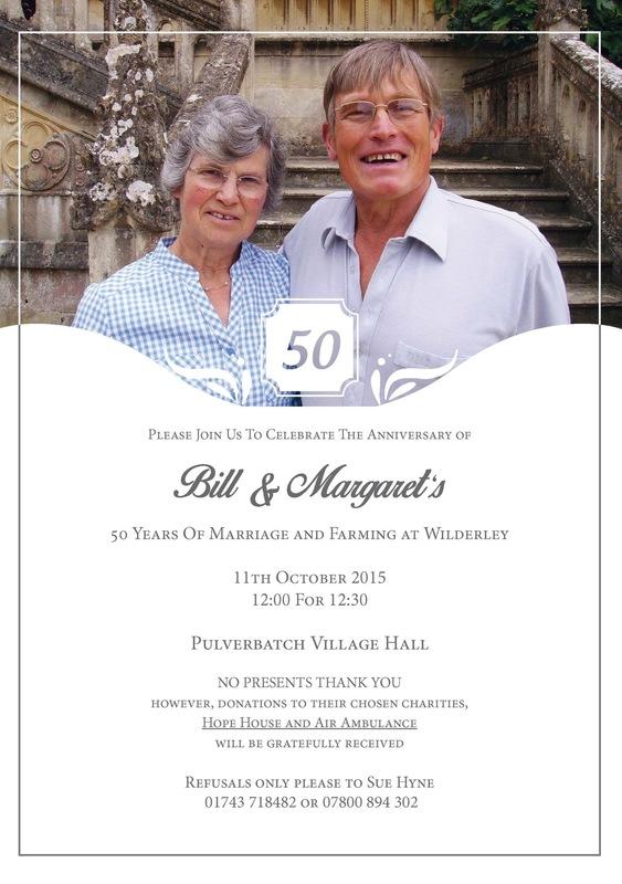Lara-Jane van Antwerpen - Anniversary Invite, 2015