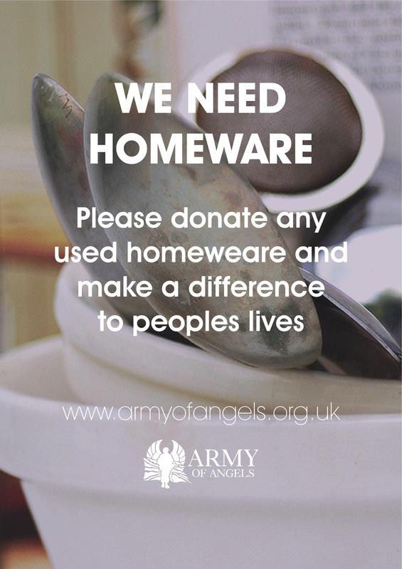 Lara-Jane van Antwerpen - Army of Angels Charity Poster