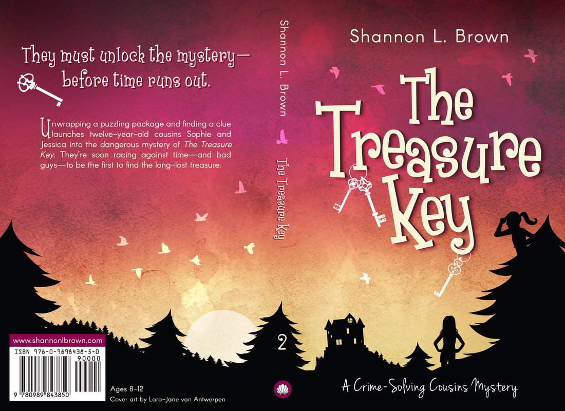 Lara-Jane van Antwerpen - The Treasure Key Cover Design (Winner)