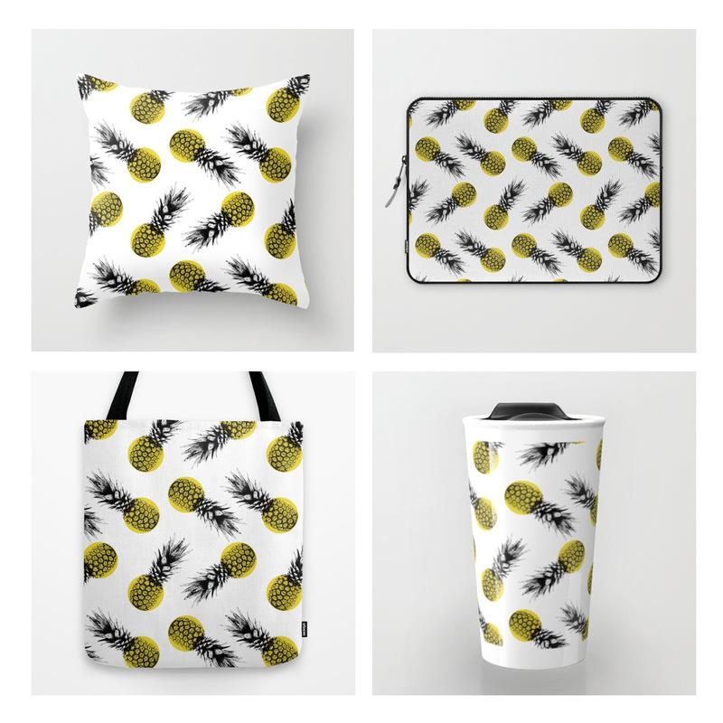 Lara-Jane van Antwerpen - Summer Pineapple Pattern