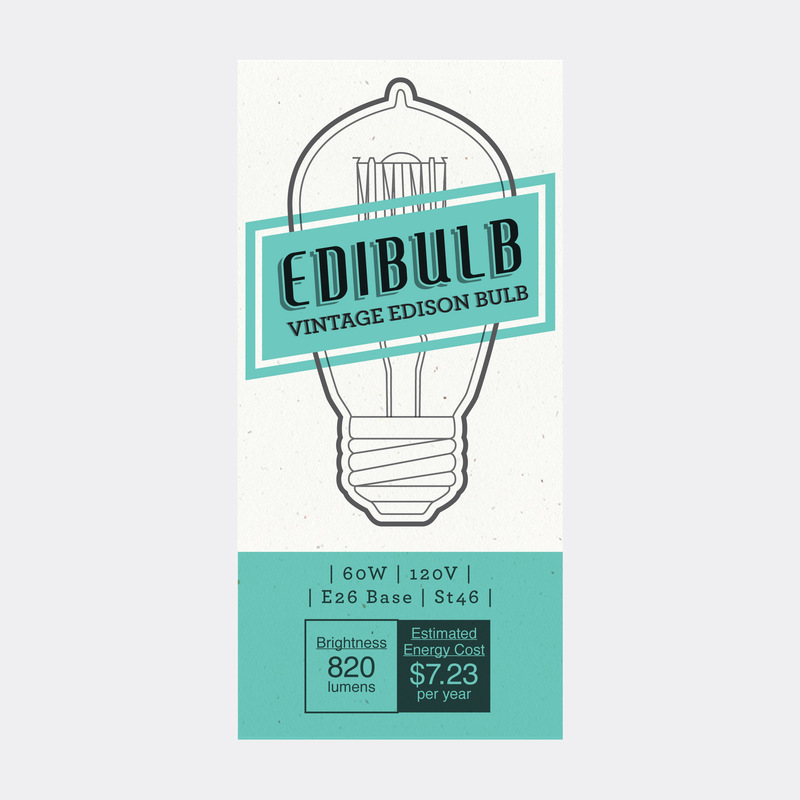 Lara-Jane van Antwerpen - Vintage Lightbulb Packaging (Runner up)