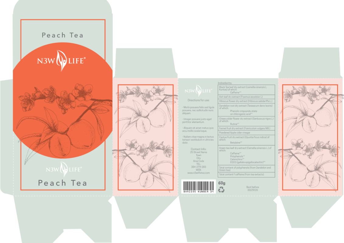 Lara-Jane van Antwerpen - Peach Iced Tea Packaging Design (Finalist)