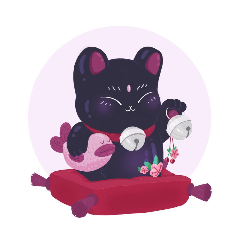 Lara-Jane van Antwerpen - Lucky Cat 2016