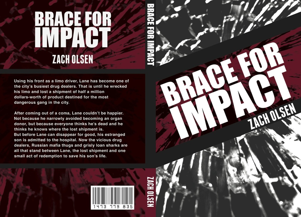 Lara-Jane van Antwerpen - Brace For Impact Cover Design (Winner)