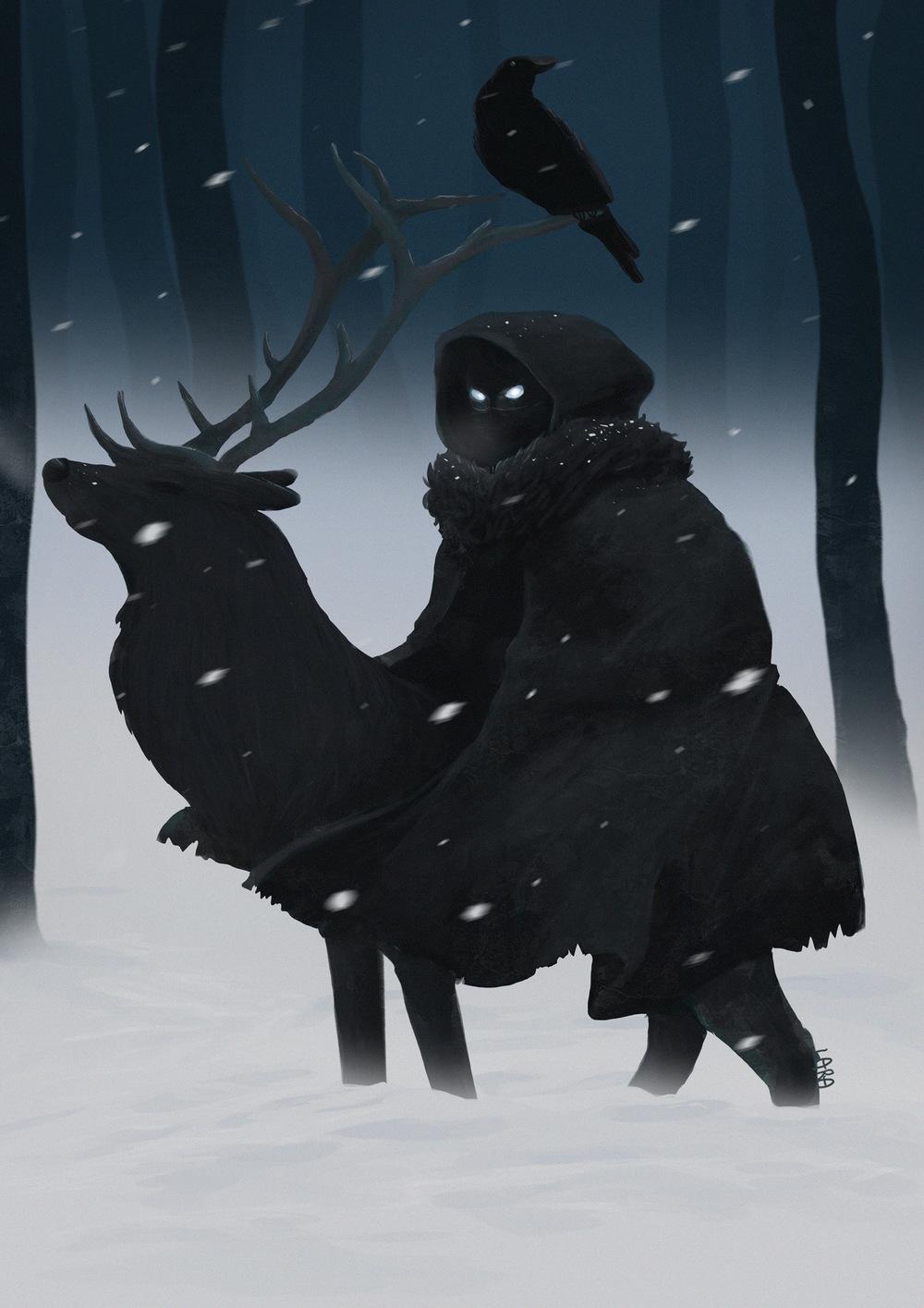 Lara-Jane van Antwerpen - Coldhands, Game of Thrones Fan Art, 2016