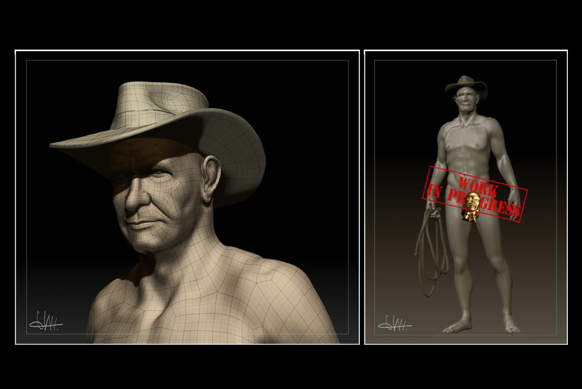montuschi elena portfolio - Z-BRUSH: sculpt modeling
