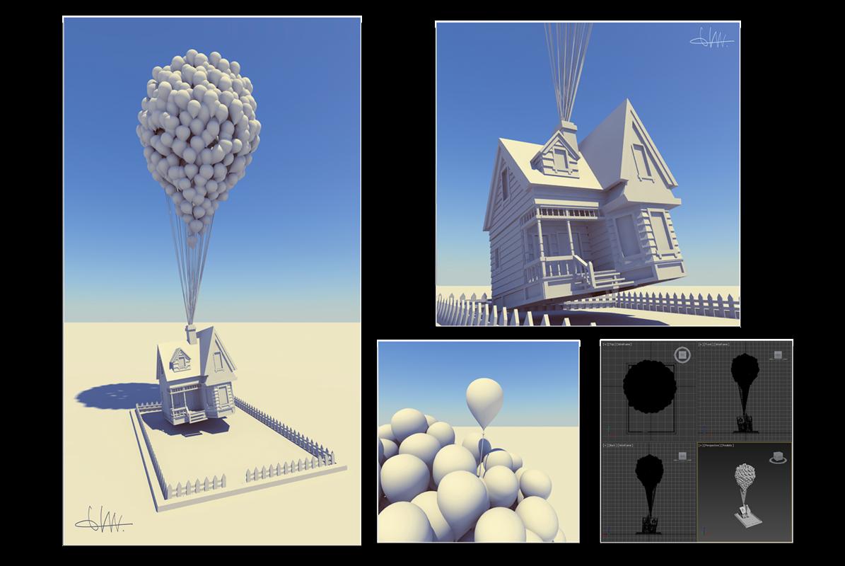 montuschi elena portfolio - 3D MAX: Polygonal modeling and V-ray rendering