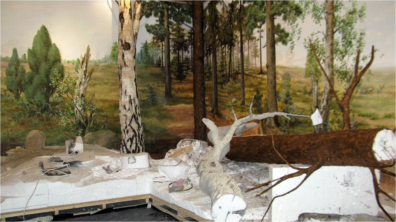 Theaterplastikerin Elisabeth Trobisch - Diorama | Natur