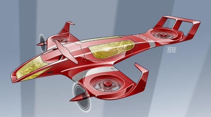 W.O.R.K.S.P.L.A.Y.S.D.R.E.A.M.S - VTOL aircraft concept 2012.