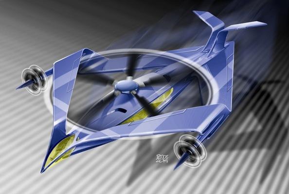 W.O.R.K.S.P.L.A.Y.S.D.R.E.A.M.S - VTOL aircraft concept 2014.