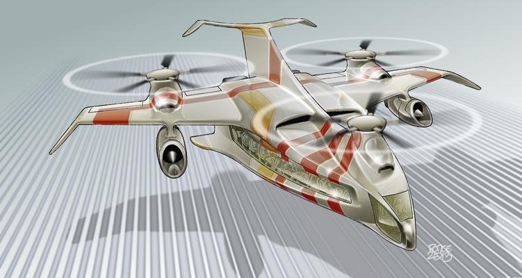 W.O.R.K.S.P.L.A.Y.S.D.R.E.A.M.S - VTOL aircraft concept 2013.