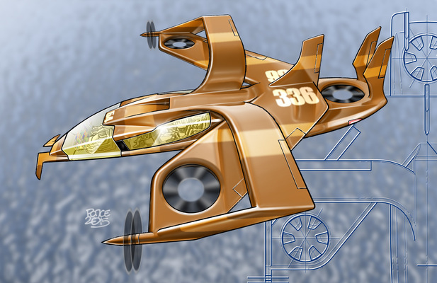 W.O.R.K.S.P.L.A.Y.S.D.R.E.A.M.S - VTOL aircraft concept 2015.
