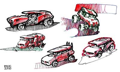W.O.R.K.S.P.L.A.Y.S.D.R.E.A.M.S - Vehicules 2.