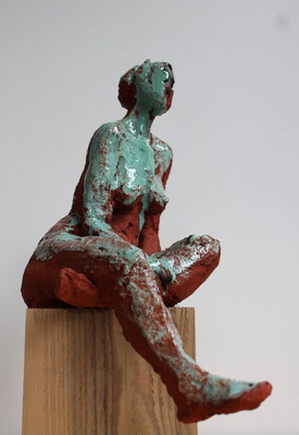 Galerie op 11 - Model rode chamotteklei met glazuur februari 2016