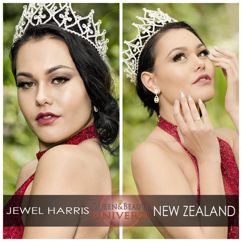 Queen Beauty Universe - NEW ZEALAND