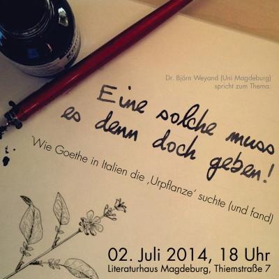 Mondfuchs - Art & Design - Poster Goethe Gesellschaft