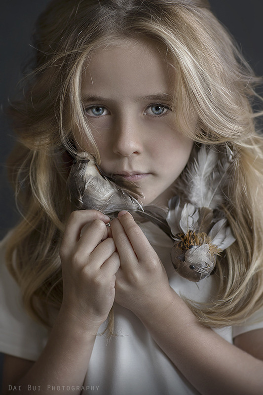 Dai Bui Photography - Finalist of November 2017 Children Photo Contest Close-up Portrait; Publication at Inspire- Digital or Not Fine Art Photography Magazine as TOP 10 Best Childrens Photography 07 November 2017